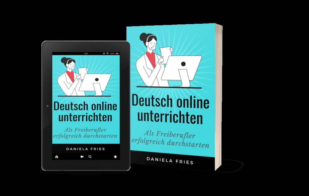 Deutsch online unterrichten Buch